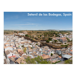 Setenil de las Bodegas、スペイン ポストカード