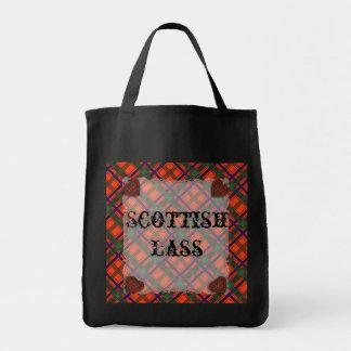 Setonのスコットランドの一族のタータンチェック-格子縞 トートバッグ