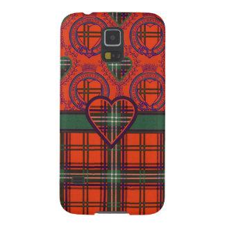 Setonのスコットランドの一族のタータンチェック-格子縞 Galaxy S5 ケース