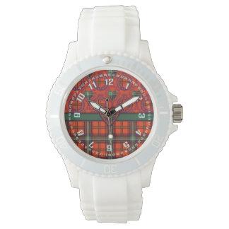 Setonの一族の格子縞のスコットランド人のタータンチェック 腕時計