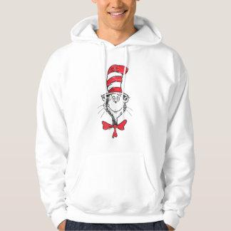 Seuss先生|帽子のヘッドヴィンテージの猫 パーカ