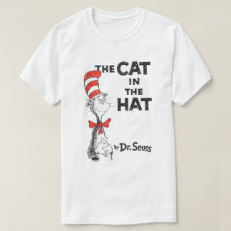 Seuss先生|帽子の本の猫 Tシャツ