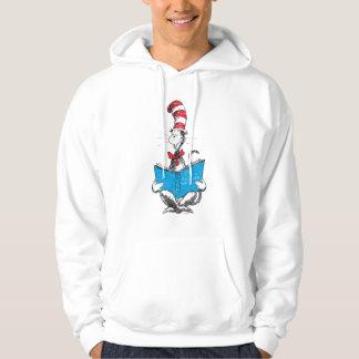 Seuss先生|帽子-読書の猫 パーカ
