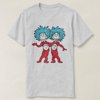 Seuss |先生の事1の事2のモデル tシャツ