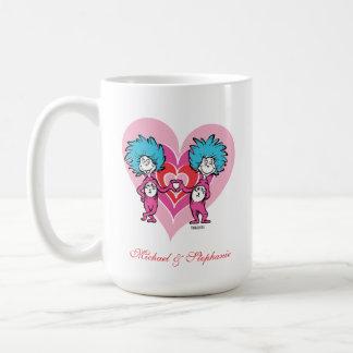 Seuss Valentine |先生の事1の事2 コーヒーマグカップ