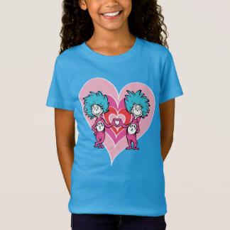 Seuss Valentine |先生の事1の事2 Tシャツ
