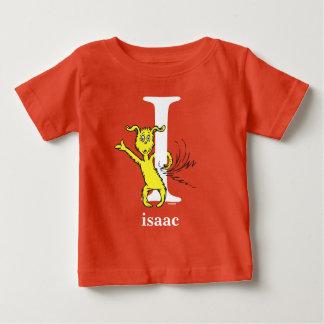 Seuss's ABC先生の: 手紙I -白|はあなたの名前を加えます ベビーTシャツ