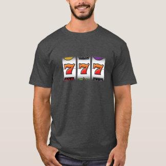 Sevensの幸運な大当たりはTシャツに細長い穴をつけます Tシャツ