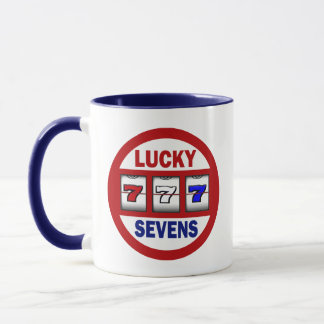 Sevens幸運なスロット マグカップ