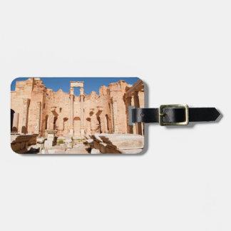 Severanのバシリカ会堂、Leptisのマグナ、Al Khums 2 ラゲッジタグ