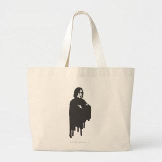 Severus Snapeの腕はB-Wを交差させました ラージトートバッグ