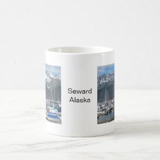 Seward港、アラスカ コーヒーマグカップ