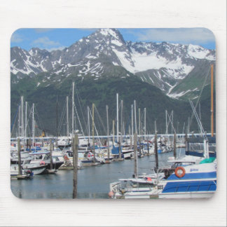 Seward港、アラスカ マウスパッド