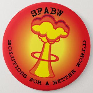 Sfabw -ボタン(よりよい世界のための解決) 15.2cm 丸型バッジ