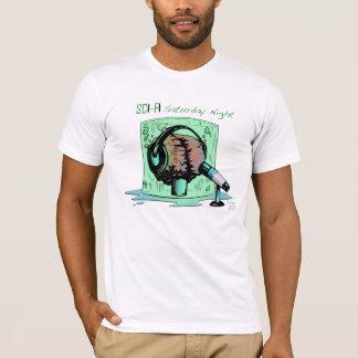 SFSNの白いロゴのティー Tシャツ