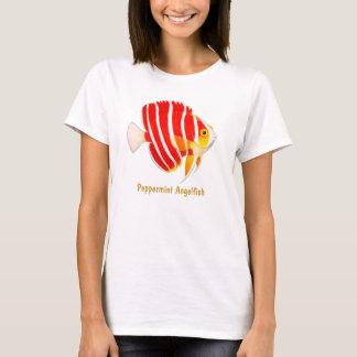 SH珊瑚礁のペパーミントのAngelfishの女性ベビードール Tシャツ