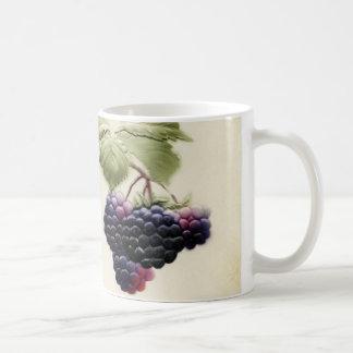 Shab-tasticのヴィンテージのブラックベリーのマグ コーヒーマグカップ