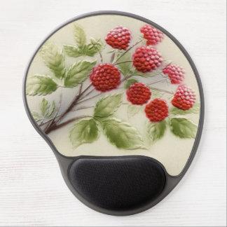 Shab-tastic Vintage Raspberries Gel Mouse Pad ジェルマウスパッド