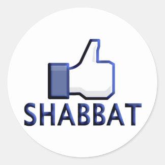 Shabbatのように ラウンドシール