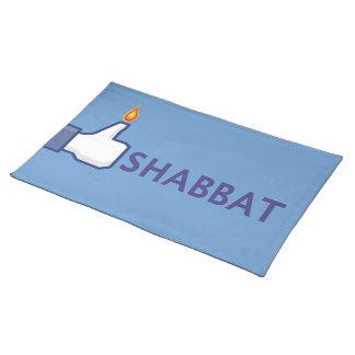 Shabbatのランチョンマット ランチョンマット
