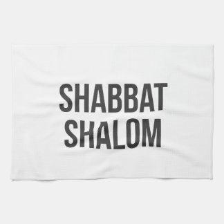 Shabbat Shalomの台所タオル キッチンタオル