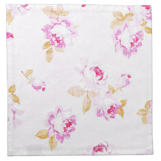 Shabby Chic Pale Pink Rose Cloth Napkin ナプキンクロス