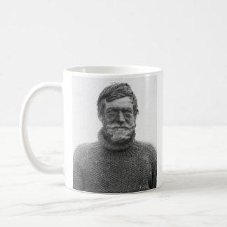 """Shackletonのマグ-描けば""""難しさ""""は引用します コーヒーマグカップ"""