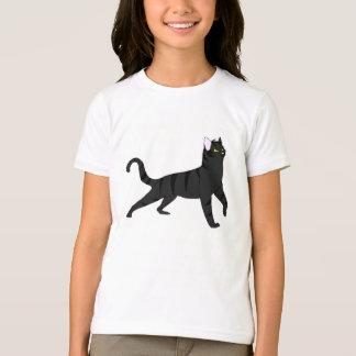 Shadowstreakの女の子の基本的なアメリカの服装のTシャツ Tシャツ