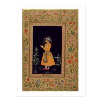 Shah Jahan (1592-1666年の) Mughal、c.1632のポートレート ポストカード