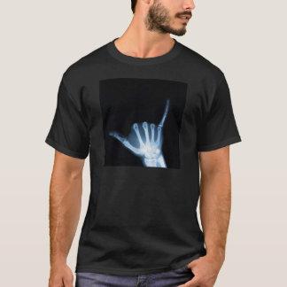 Shakaの印のX線(緩いこつ) Tシャツ