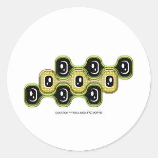 SHAKATCH™ : EL DORADO 丸形シールステッカー