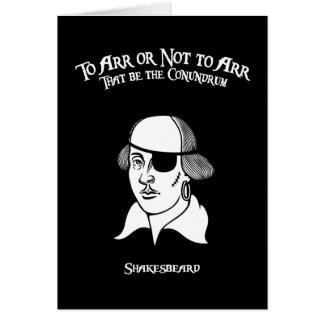 Shakesbeard カード