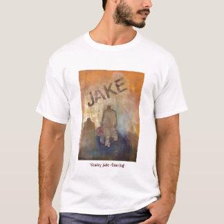 """""""Shakey Jake -去ります"""" Tシャツ"""