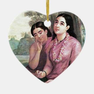 Shakuntala セラミックオーナメント