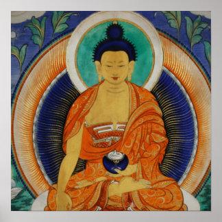 Shakyamuni Thangka ポスター