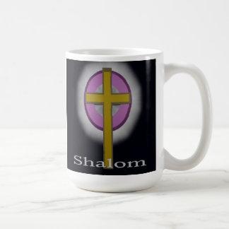 Shalomのクリスチャンのマグ コーヒーマグカップ