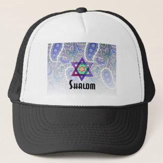 Shalomのペイズリーの青 キャップ