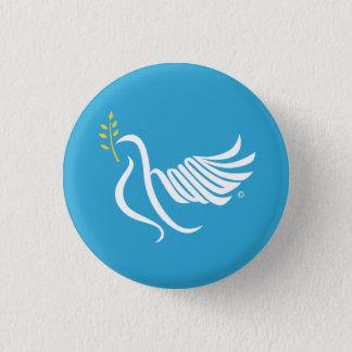 Shalomの平和鳩 缶バッジ