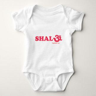 Shalomの花 ベビーボディスーツ