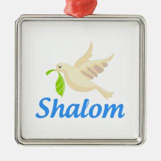 Shalomの鳩 メタルオーナメント