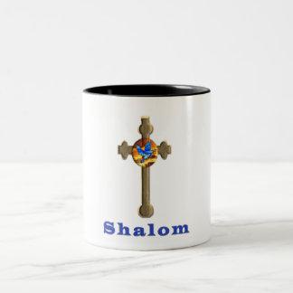 Shalomプロダクト ツートーンマグカップ