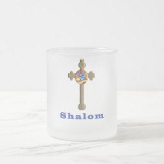 Shalomプロダクト フロストグラスマグカップ