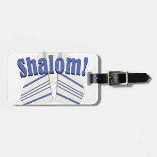 Shalom! ラゲッジタグ