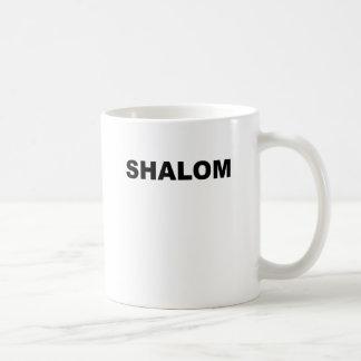 SHALOM.png コーヒーマグカップ