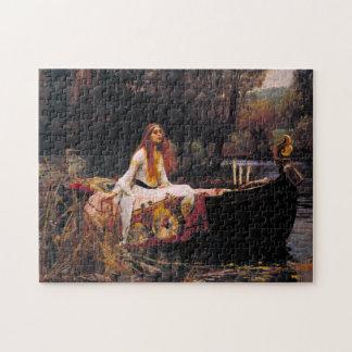 Shalottの女性 ジグゾーパズル