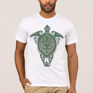 Shamanicのウミガメの記号 + あなたのアイディア tシャツ