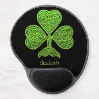 Shamrock St. Patrick's Day Personalized ジェルマウスパッド