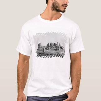 「Shamsi」式のモデルは坐らせます Tシャツ