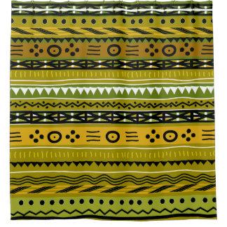 Shangoの種族のデザイン シャワーカーテン