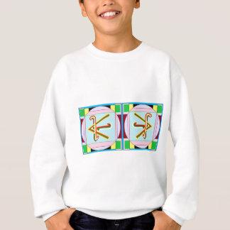 SHANTI =平和: Karunaの霊気 スウェットシャツ